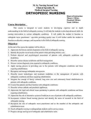 Orthopedic Cover Letter by Orthopedic Registered Resume