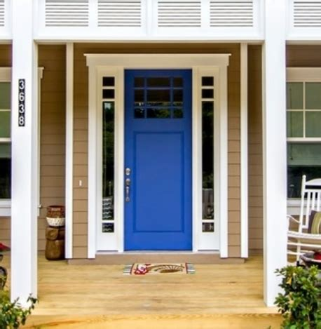 Blue Front Door Colors Meaning Feng Shui Advices Home Front Door Color Meanings