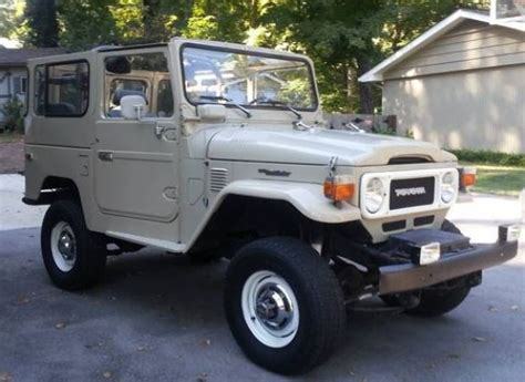 1979 Toyota For Sale 1979 Toyota Land Cruiser Bring A Trailer