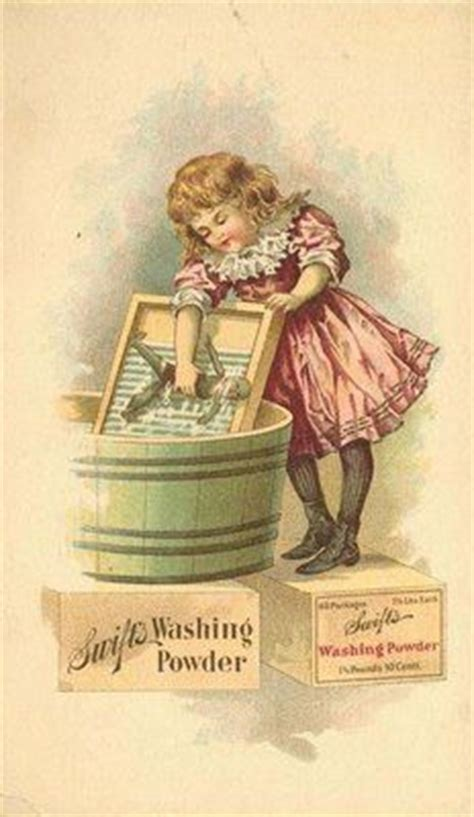 Imagenes Vintage Laundry | ivory soap girl wash laundry clothes room vintage poster