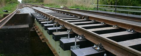 Plastic Sleepers by Plastic Railway Sleepers That Reduce Sound Klp
