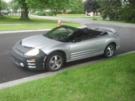 used mitsubishi eclipse spyder convertible for sale find used 2004 mitsubishi eclipse spyder gs convertible 2