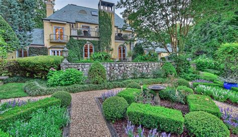 french country style home  charlotte north carolina