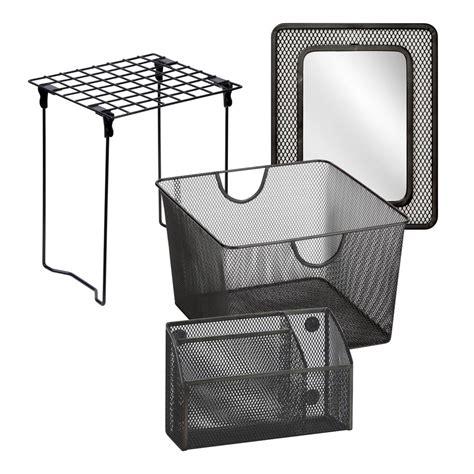 Magnetic Window Blinds For Steel Doors Honey Can Do Black Back To Kit 1 Btsx06756 The