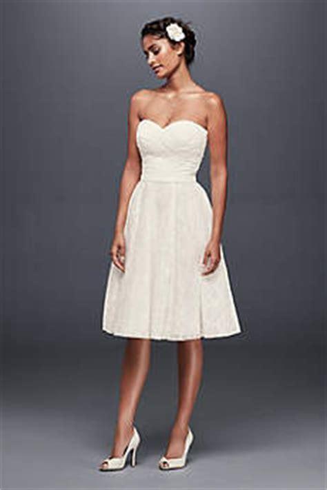 short amp tea length wedding dresses david s bridal