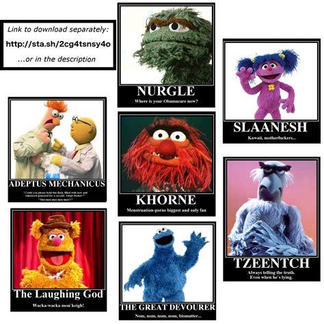 Muppet Memes - 40k muppet memes by empyronaut on deviantart