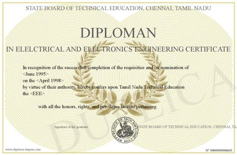 diploman  elelctrical  electronics engineering