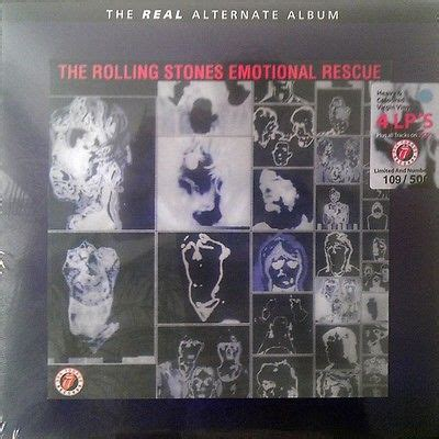 real rescue popsike rolling stones the real alternate emotional rescue box set