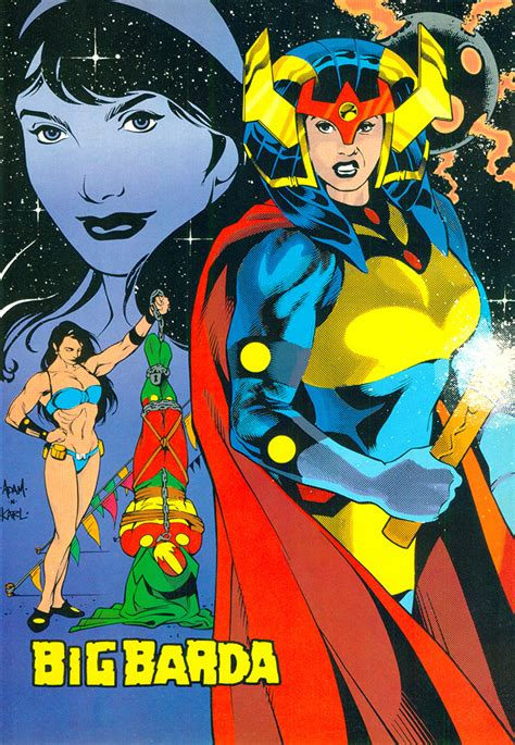 Copy Cat Justice big barda and the furies