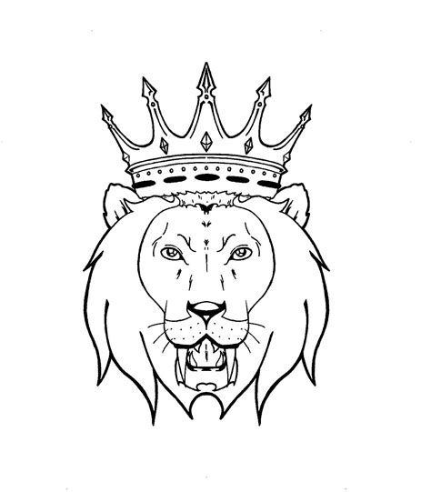 outline tattoo designs 12 unique king tattoos designs