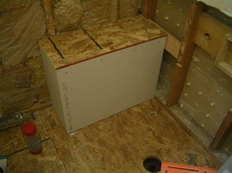 how to build shower bench building a bench for your shower