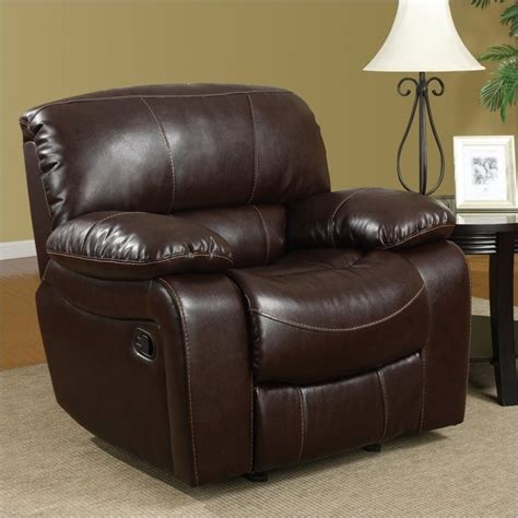 global furniture usa 8122 glider chair burgundy leather