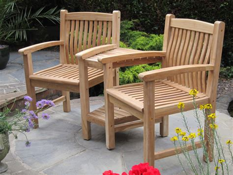 lancaster curved teak companionlove seat  liz frances