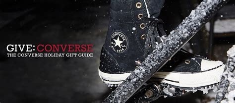 Where Can I Use My Converse Gift Card - converse holiday gift guide converse com