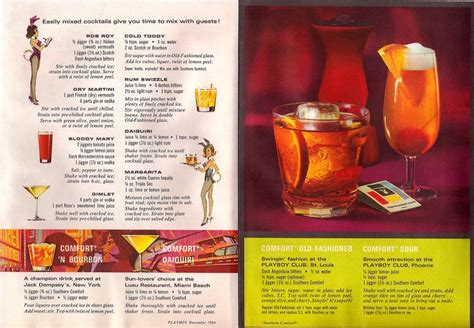 mixed drinks with southern comfort vintage southern comfort cocktail recipes drinks