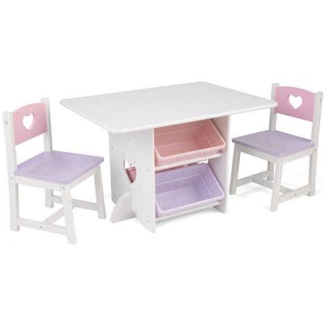 table et chaise enfant pas cher kidkraft table chaises et bac rangement enfant en bois