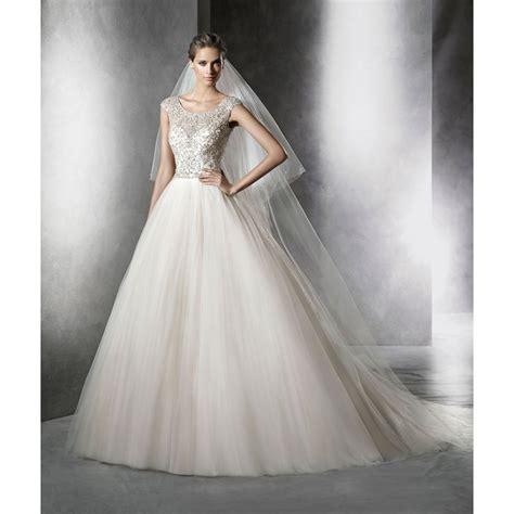 pronovias 2016 collection prismal wedding dress