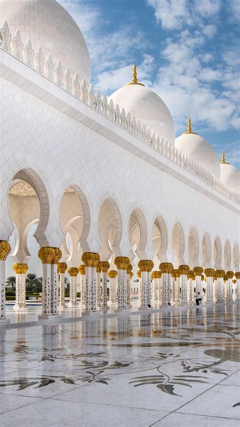 wallpaper sheikh zayed mosque abu dhabi  travel