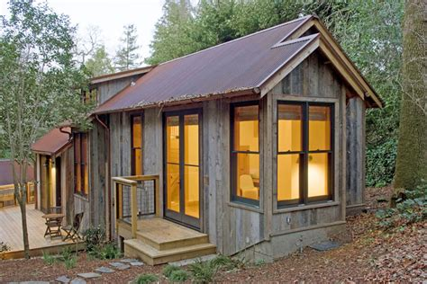 Small Barn Home Cost Barn Wood Guest House The Shelter