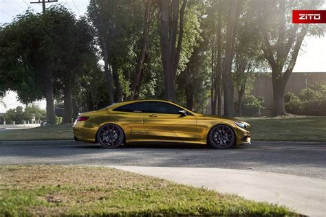 mercedes s500 coupe 2016 mercedes s500 coupe looks impressive in gold