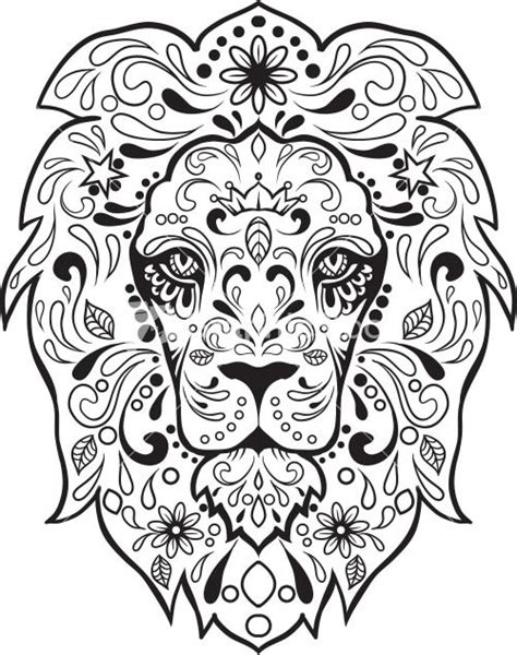 sugar skull coloring pages pdf free sugar skull advanced coloring 8 coloring sugar skull