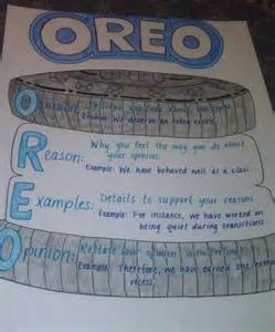 Oreo Template For Persuasive Writing by Stuffed Oreo Persuasive Writing Poster I Drew To
