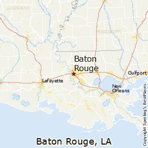 louisiana map baton best places to live in baton louisiana