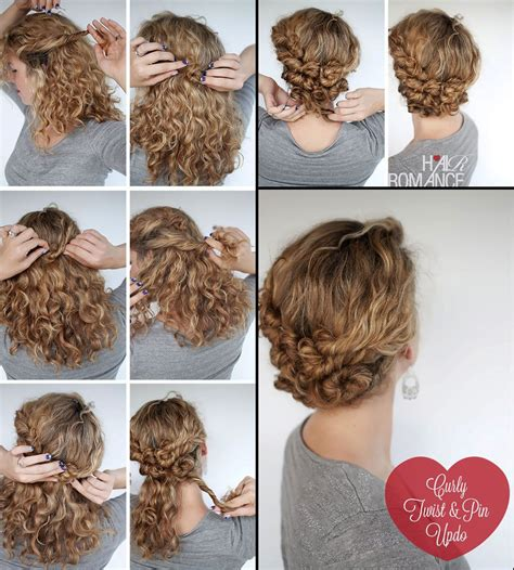 hairstyle tutorials easy hairstyle tutorial for curly hair hairstyles