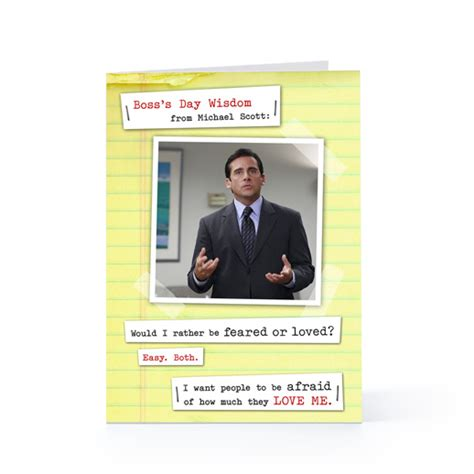 boss day quotes michael scott quotesgram