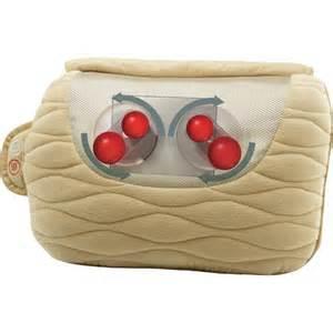 homedics sp 25h shiatsu vibration pillow