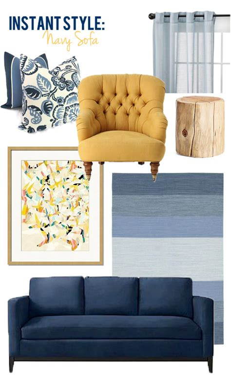 blue and yellow sofa style edition blog style edition