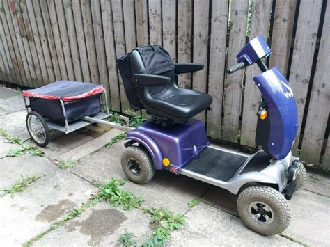 horizon voyager mobility scooter  trailer  morley
