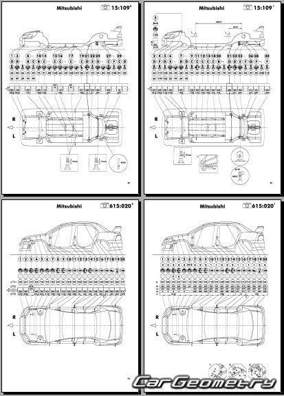 automotive repair manual 2003 mitsubishi lancer evolution seat position control размеры кузова mitsubishi lancer evolution vii 2001 2003 body repair manual