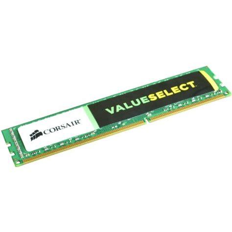 Ram 4gb Ddr3 Laptop Corsair corsair valueselect 1x4gb 4gb 1600mhz ddr3 desktop memory