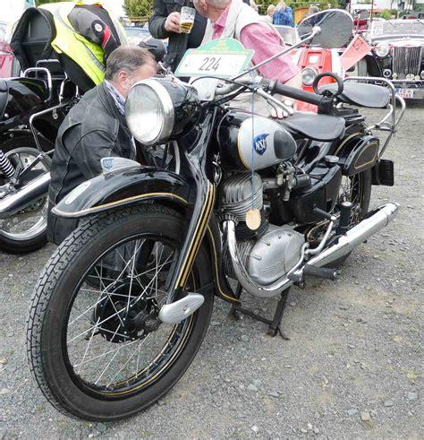 Motorrad Oldtimer Nsu Max by Motorr 228 Der Oldtimer Nsu Fahrzeugbilder De