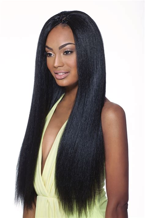 crocet wig with straight hair outre x pression pre loop crochet braid dominican blow out