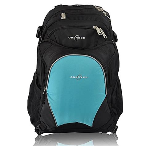 Cooler Diaperbag Two Disanto Backpack obersee bern bag backpack with detachable cooler in turquoise buybuy baby