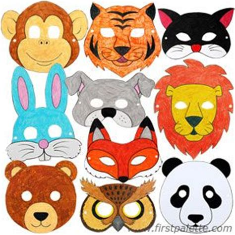 printable masks to decorate st francis assisi animal masks craft free printables