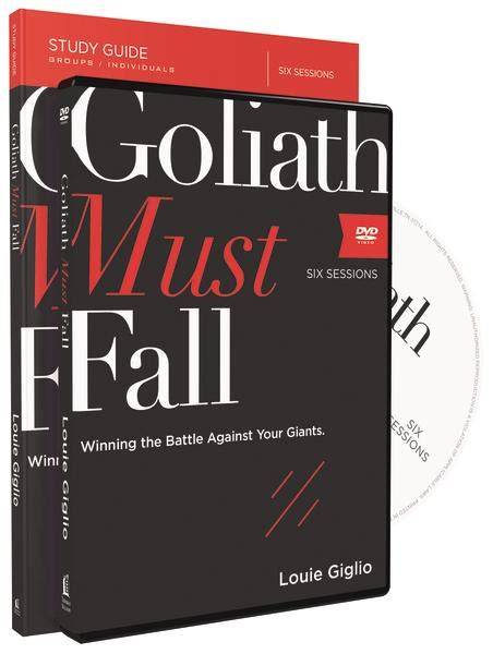 Goliath Must Fall Study Guide With Dvd Winning The Battle