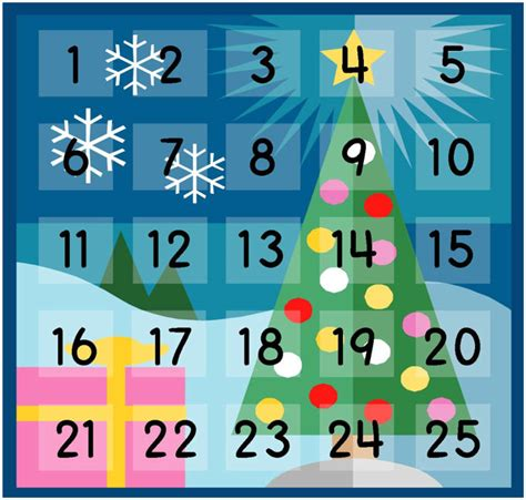 Create A Reverse Advent Calendar That Gives Back 30 Day Adventures How To Make A Advent Calendar Template