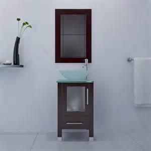 18 inch bathroom vanity with sink avola 18 inch vessel sink bathroom vanity espresso finish