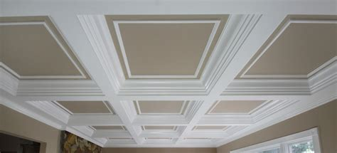Faux Wainscoting Ideas - coffered ceilings wainscot solutions inc