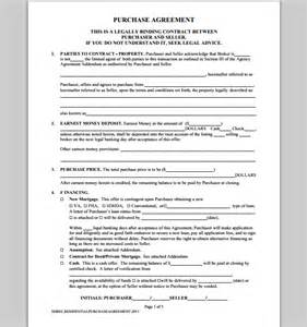 Purchase Order Contract Template purchase template for contract format of purchase