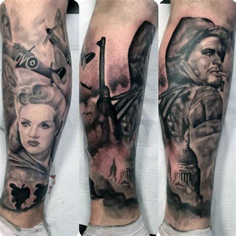 ww2 tattoos 70 ww2 tattoos for memorial ink design ideas