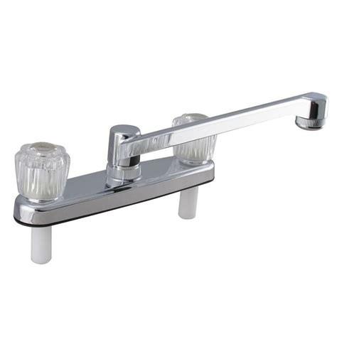 ldr industries 2 handle standard kitchen faucet in chrome ldr industries 2 handle standard kitchen faucet in chrome