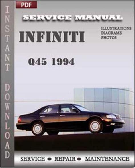 infiniti q45 1994 service repair servicerepairmanualdownload com