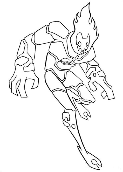 Ben 10 Coloring Pages Free Printable Coloring Pages Ben 10 Printable Rath Coloring Pages