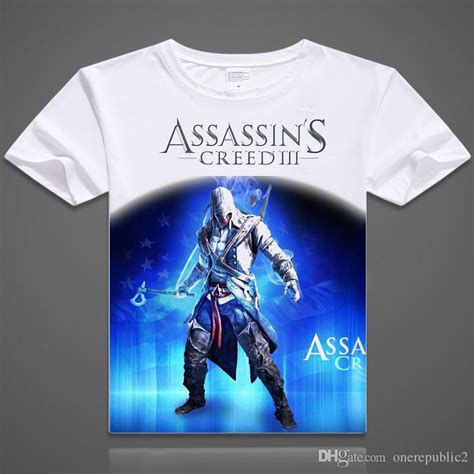 Assassin S Creed 4 T Shirt 2015free shipping assassin s creed t shirt logo