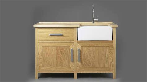 20 Wooden Free Standing Kitchen Sink   Home Design Lover
