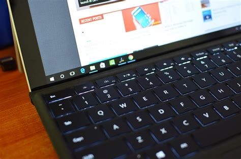 surface pro keyboard light how to enable or disable the surface keyboard backlight